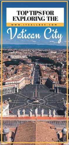 visiting Vatican city tips - Everything you need to know about visiting the Vatican city.