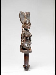 Yoruba Ose Sango (Shango Staff), Nigeria