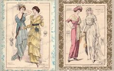 Edwardian French Fashion Motivational Prints   by ChezLorraines, $30.00