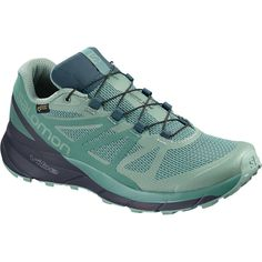 e404f93dd2f Salomon - Sense Ride GTX Invisible Fit Trail Running Shoe - Women s -  Trellis Graphite