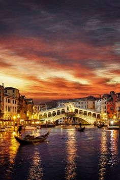 Last rays of light by Radu R. Venice, Italy