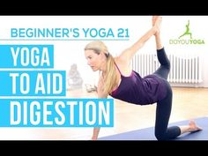 Yoga to Aid Digestion - Session 21 - Yoga for Beginners Starter Kit
