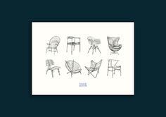 The Chair Collection - Strek av Helene Egeland