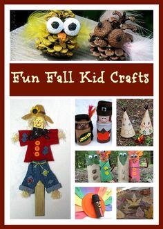 Fun Fall Kid Crafts