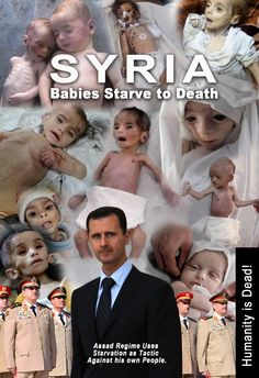 Syrian babies are starve to death! Please help to raise awareness of suffering in Syria. #NO2VETO #Syria #AssadWarCrimes