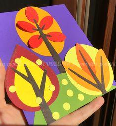 ДЕТСКИЕ ПОДЕЛКИ September Kids Crafts, October Art, Winter Crafts For Kids, Halloween Crafts For Kids, Paper Crafts For Kids, Fall Crafts, Diy For Kids, Diy And Crafts, Arts And Crafts