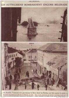 """Ponovno"" bombardovanje Beograda  - Belgrade after bombing WWI"