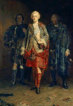 """Bonnie Prince Charlie"" by John Pettie, (1898) oil on canvas."