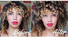 HOW TO STYLE FINE/THIN CURLY HAIR (LOW DENSITY CURLS) FOR THICKER LOOKIN...