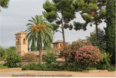 Alhambra grounds Grenada Spain