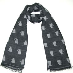 Official BBC Doctor Who Dalek Scarf by LOVARZI