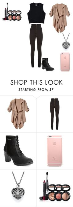"""""""Untitled #2"""" by c-razylove ❤ liked on Polyvore featuring Balmain and Laura Geller"""