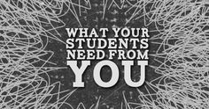 One of the most important things your students need from you as a Youth Pastor