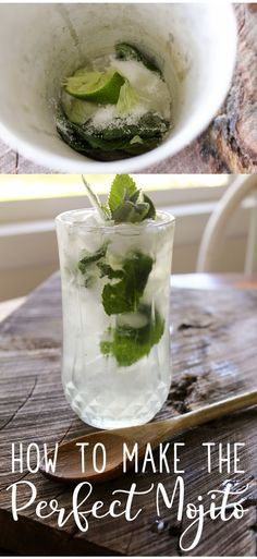 """How to Make a Mojito aka """"How to Teach Your Significant Other How to Make a Mojito"""". The best drink to chill to. via This Cook That Drinks Alcohol Recipes, Punch Recipes, Cocktail Recipes, Drink Recipes, Cocktail Drinks, Refreshing Drinks, Summer Drinks, Fun Drinks, Alcoholic Beverages"""