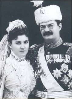 King Alexander and Queen Draga of Serbia