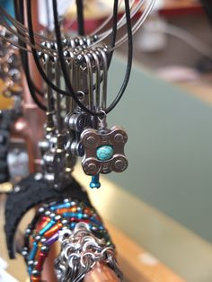 Bike Gear Necklace--also perfect for Julie!