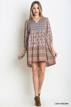Красива Мрійник плаття - Мокко - Angel Heart Boutique