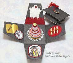 Explosion box laurea tutorial – Graduation box  77625e2990c3