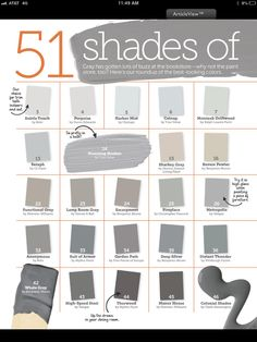 Shades of Greys