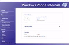 Windows Phone Internals 2.2 can unlock all Lumia phones (root custom ROMs and more) - Liliputing
