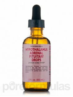 The Hypothalamus-Pituitary Axis | Natural tinctures to treat that part of brain.