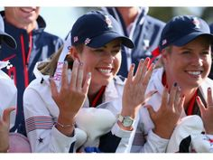 paula creamer nails | paula creamer paula creamer and brittany lincicome members of the
