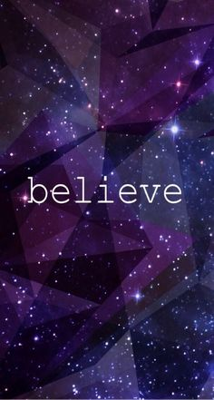 Believe galaxy wallpaper screensaver iPhone