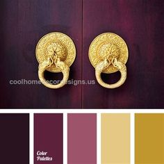 Discover recipes, home ideas, style inspiration and other ideas to try. Elegant Home Decor, Elegant Homes, Shades Of Gold, Color Shades, Low Key, Curtain Rods, Pin Collection, Red And Pink, Pink Color