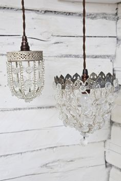 pretty swedish light fixtures on a covered porch...for a garden party...Or inside the bedroom over a corner spot, with 2 big old comfy chair and books...