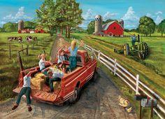 1000pc McGavins Farm jigsaw puzzle | Cobble Hill Puzzle Company