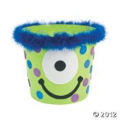 Monster Bucket Toddler Craft
