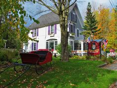 Phineas Swann Bed and Breakfast in Montgomery Center, Vermont. Photographed by Tim Prevett