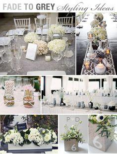 grey wedding decorations | ... Grey, Grey, monochrome, Neutrals, Pocketful of Dreams, Wedding