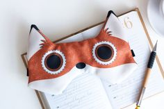 masque renard lucille michieli kidz pinterest masque deguisement et masque renard. Black Bedroom Furniture Sets. Home Design Ideas