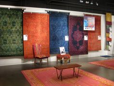 Our overdyed rugs look like a work of art! #LVMkt