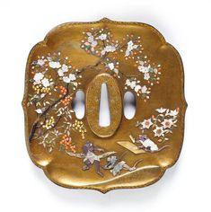 ドキドキするほど絵画な『日本刀のつば』江戸時代発祥、芝山象嵌の世界に「物語り」が聞こえる