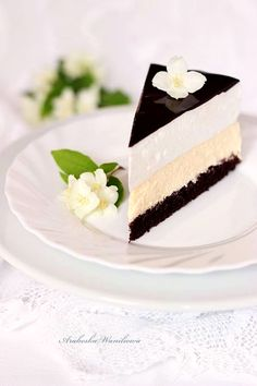 Arabeska : Tort palce lizać Chocolate Recipes, Chocolate Cake, Baking Recipes, Cake Recipes, Mousse Dessert, Cake Bars, Cake Shop, Sweet Cakes, Pavlova