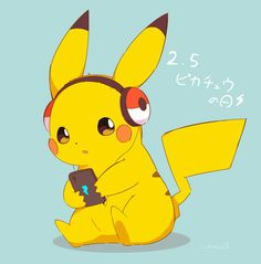 Let's dance 💃🏻💃🏻💃🏻💃🏻💃🏻💃🏻💃🏻💃🏻 - Pokemon about you searching for. Pikachu Pikachu, Pikachu Crochet, Cute Pokemon Wallpaper, Cute Disney Wallpaper, Cute Cartoon Wallpapers, Pokemon Legal, O Pokemon, Cute Animal Drawings, Cute Drawings