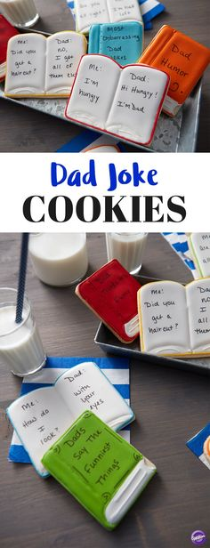 Every dad has a great joke in his pocket…and chances are you've heard them all! This Father's Day, give dad a taste of his own medicine with these Too Sweet to Eat Dad Joke Cookies. Featuring some of dad's best one-liners and rib ticklers, these cookies make great gifts for fathers who love to laugh. Let the kids pick out their favorite dad jokes for a treat he's sure to love!