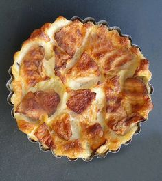 Apple flognarde is nothing more than a clafoutis. In some regions in France, the traditional french dessert – clafoutis is referred to as flognarde. The flognarde is usually made with apples or pears.  This dessert is so simple - just a sweet batter poured over a layer of apple chunks and baked in the oven. You can eat this dish as a hot pudding, or a cold dessert.