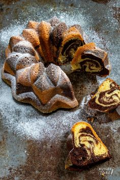 Bundt Cake Pan, Cake Pans, Marmer Cake, Cake Recept, Triple Chocolate Mousse Cake, Xmas Food, Cakes And More, Bread Baking, No Bake Cake