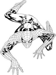 free printable spiderman coloring pages for kids | malvorlagen für jungen, superhelden