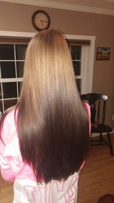 - Looking for Hair Extensions to refresh your hair look instantly? KINGHAIR® only focus on premium quality remy clip in hair. Visit - - for more details Ombre Hair Color, Cool Hair Color, Balayage Brunette, Balayage Hair, Hair Color For Fair Skin, Ombre Hair Extensions, Hot Hair Styles, Dye My Hair, Reverse Ombre
