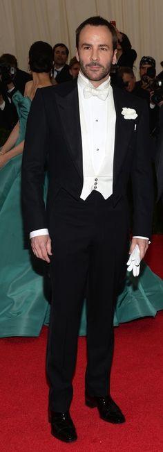 Frac: ASÍ SE LLEVA UN FRAC!. Tom Ford el más guapo de la gala de los MET 2014