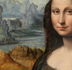 True colors of the Mona Lisa revealed by careful renovation of the earliest known copy painted by Da Vinci's apprentice.
