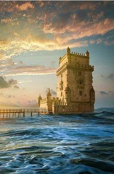 Torre de Belem Portuguese Culture, Tower Bridge, Big Ben, Natural Beauty, Explore, Adventure, Country, Architecture, World