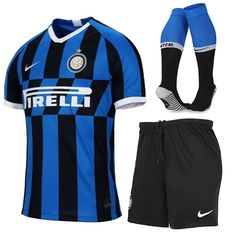 19//20 Football Soccer Suits Jersey Blue Home Kids Adults Training Outfits+Socks