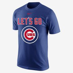 REPRESENT YOUR TEAM The Nike Playoff Pack (MLB Cubs) Men's T-Shirt shows your team loyalty with a local mantra on soft, comfortable cotton for home-grown pride and pure comfort. Product Details Fabric: 100% cotton Machine wash Imported