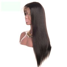 Synthetic None-lacewigs Capable Beautytown Black Color Futura Heat Resistant Hair No Tangle Straight Synthetic Lace Front Wigs With Baby Hair For Daily Makeup Modern Design