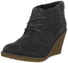 Amazon.com: Lacoste Women's Leren Ankle Boot: Shoes